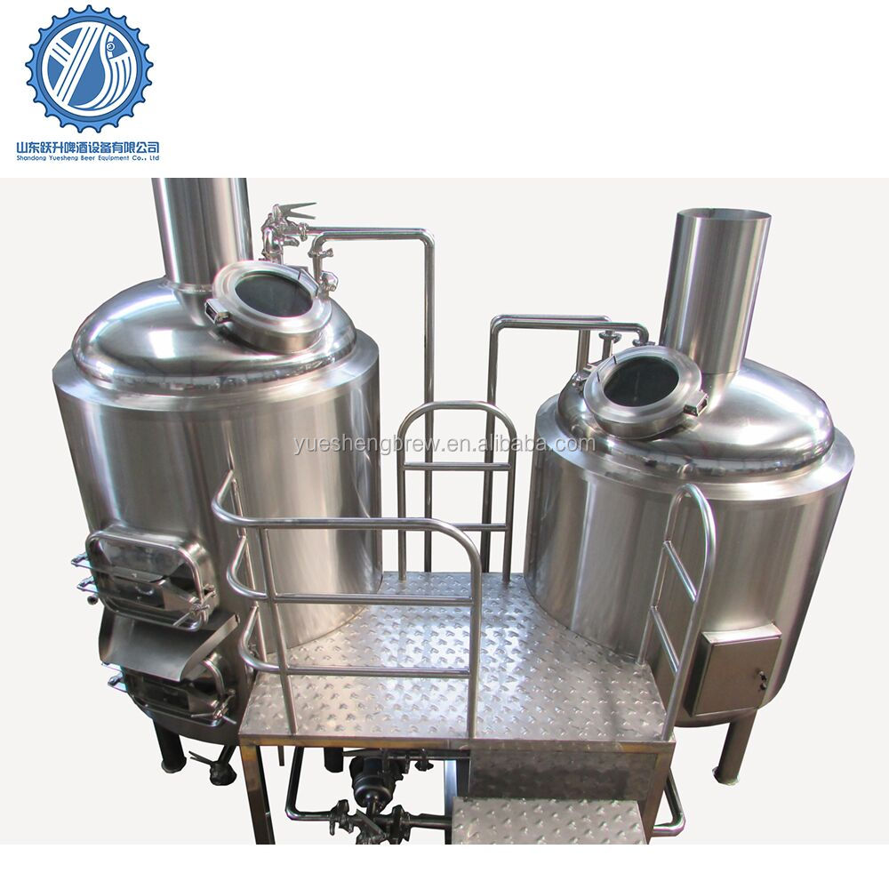 1000l Micro brewhouse brewery plant for malt beer making machine for sale