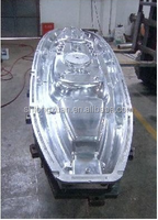 Rotomolding plastic fishing boat mould for sale