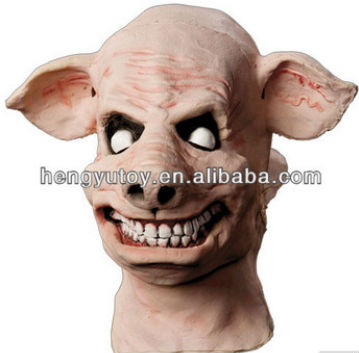 2014 The highest selling celebration party Fancy Dress Cosplay Latex Costume Scary Pig mask for Halloween Mask