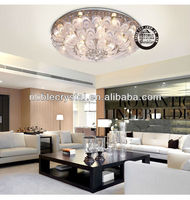 Hotselling Design Fashion Peacock Crystal Ceiling Chandelier Light