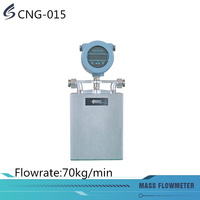 Water and wastewater mass flow meter with flow rate 70kg/min