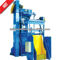 Q3210 rubber belt sand blasting machine portable
