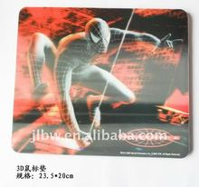 3D EVA large promotional mouse pad with anime