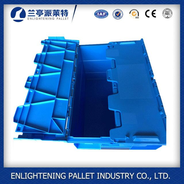 folding plastic container sealable custom plastic container