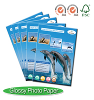 Professional Glossy photo paper A4 color inkjet Papel fotografico A4 120g 180g 200g 230g 260g. Good quality,Good price,OEM order