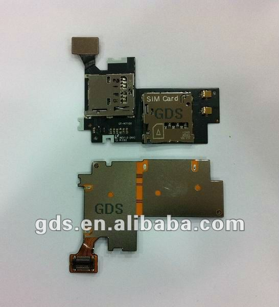 REPLACEMENT SIM CARD SLOT FLEX RIBBON CABLE for Samsung Galaxy Note II GT-N7100