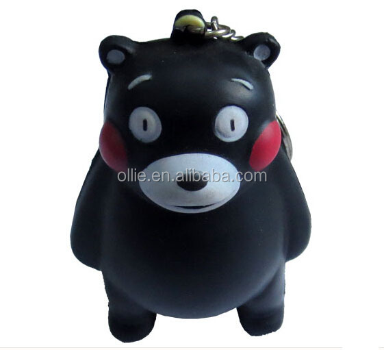 PU foam stress toy bear