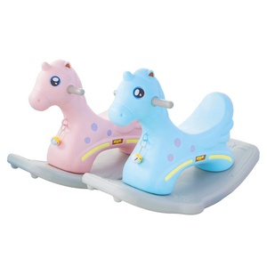 kids rocking horse for baby toy horse miniature for children plastic