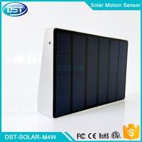 solar security led sensor light 600 lumen battery backup