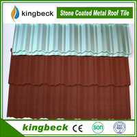 Nocen stone coated zinc roof sheet /corrugated steel cheap roofing metal roof tile