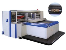 High precision paperboard creasing punching new rotary die cutting machine