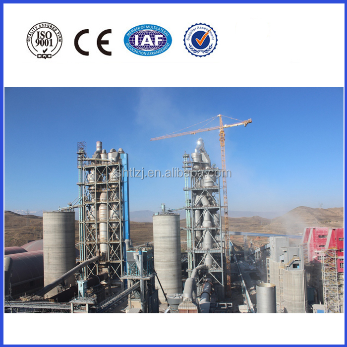 100-1500tpd cement production line design and construction