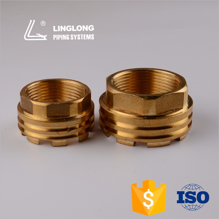 Wholesale brass female plug and socket insert for plastic pipe fitting