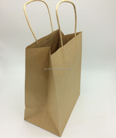 Promotional christmas gift kraft paper bag dubai made in China