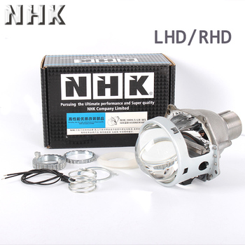NHK H4 G5 D2S clear lens bi xenon projector lens replacement of H4 auto headlamp