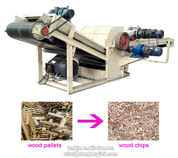 15hp small volume diesel small wood chipper for sale