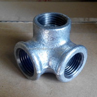 Black Galvanized Malleable Cast Iron Pipe