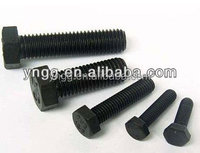 din933 bolts nuts fastener galvanized hexagonal bolt