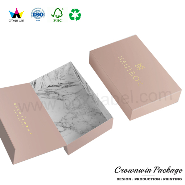 Engagement paper gift magnets for photo frame packing box
