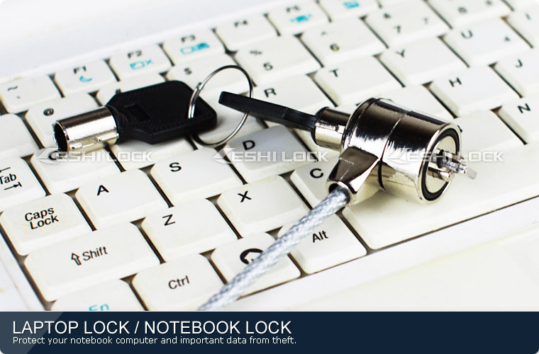 Notebook Cable Lock With Key, USB Laptop Lock