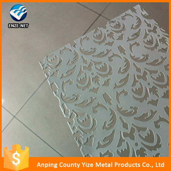 china alibaba decorative aluminun perforated metal/perforated metal sheet for bag