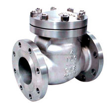 API 4 inch stainless steel swing check valve for sea water