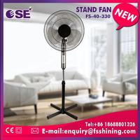 tilting angle portable solar stand fan without drop test