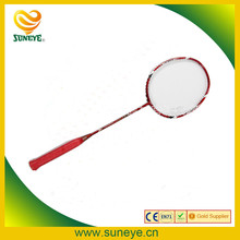 2017 Hot selling full carbon frame of badminton racket