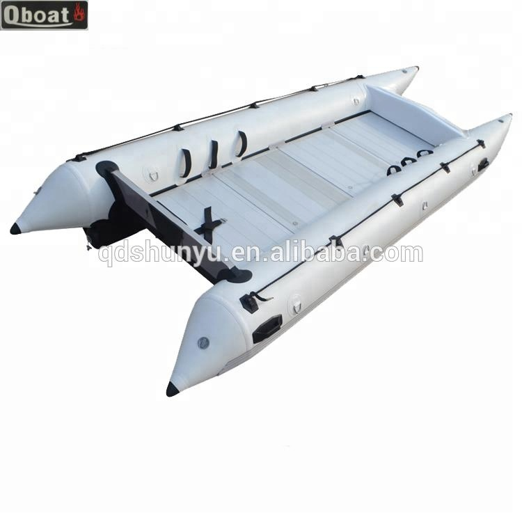 Inflatable Speed Boat Folding 8 Persons Catamaran Boat Buy Catamaran Boat Inflatable Zapcat Inflatable Catamaran Boat Product On Alibaba Com