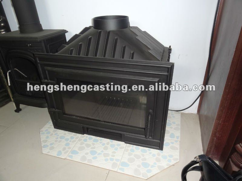freestanding indoor modern cast iron stove