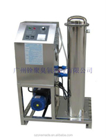 New design easy operate ozone water sterilizer machine for raw material, cleaning product, mechanical
