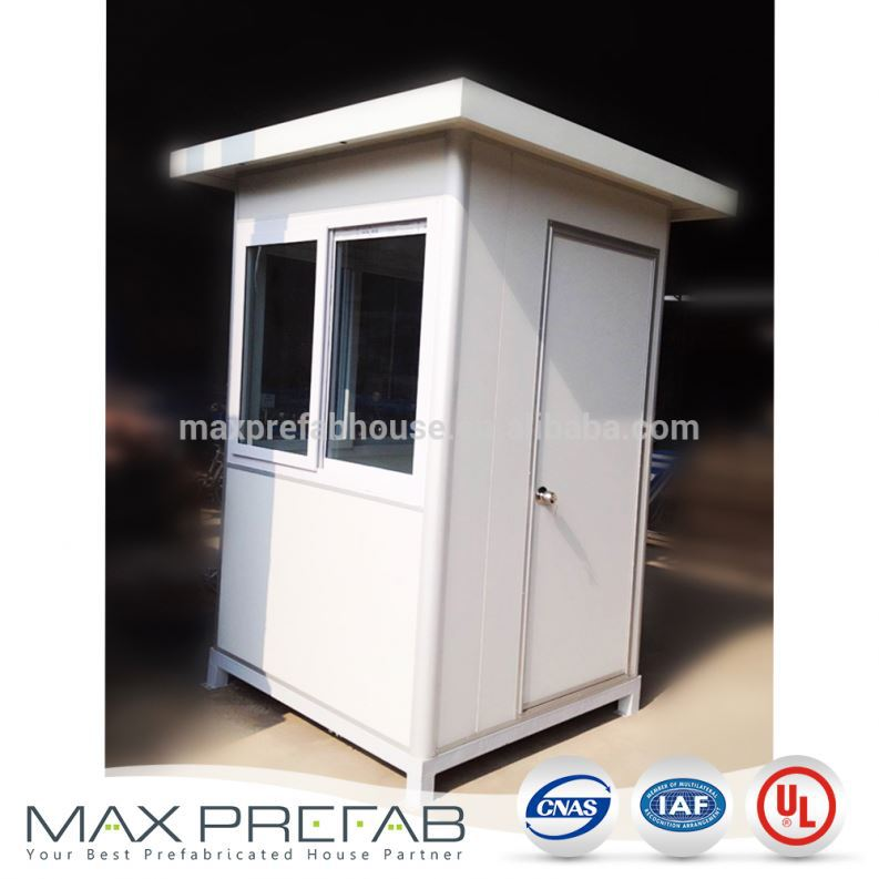 GH121224 China Building Prefabricated Security Guard House Plans