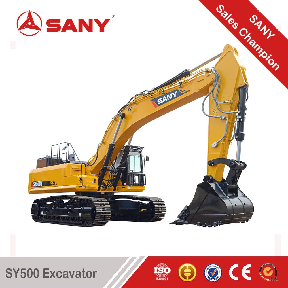 SANY SY500H 50 Tons Super Powerful Multiple Use rc Hydraulic Excavator for Sale