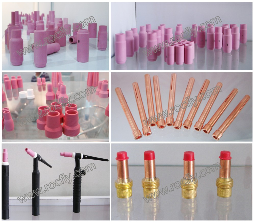 TIG Welding Torch Consumables Spare Parts