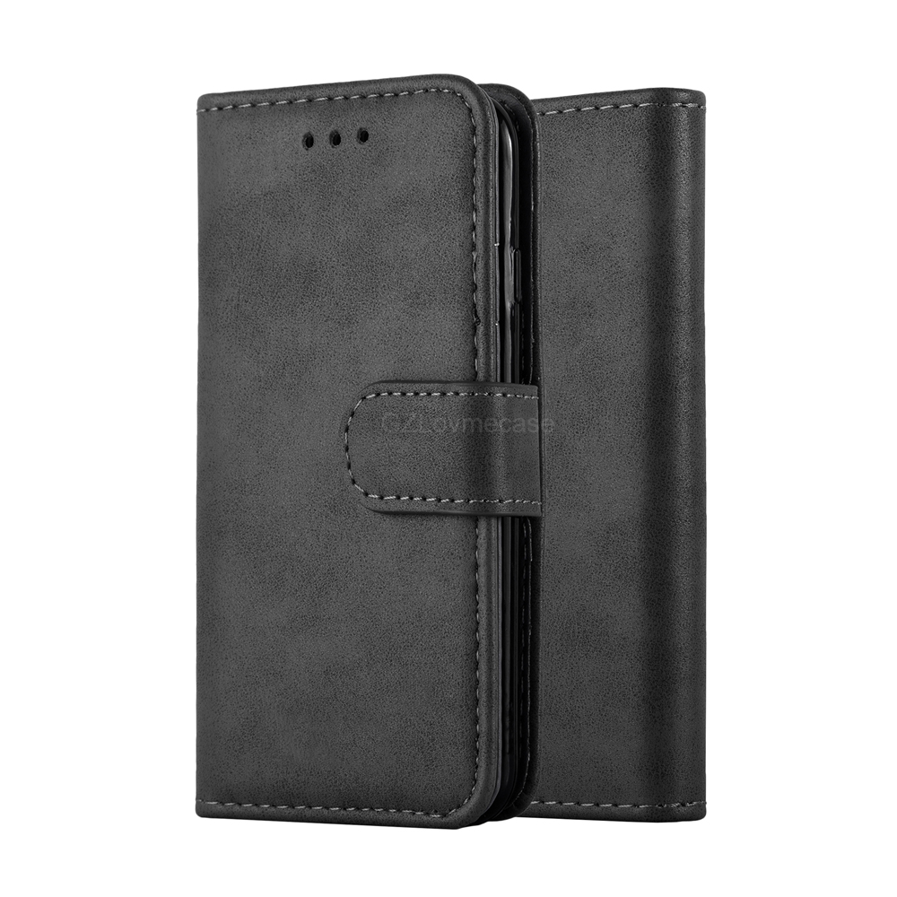 3 Card Holder Function Flip Cover Leather Walllet Phone Case For iPhone 7