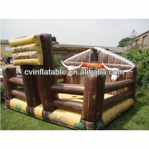 Western inflatable Bull Bed,inflatable mechanical bull