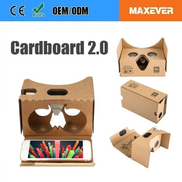 The Best Promotion Gift Google VR Cardboard 2.0 Accept Customized Printing