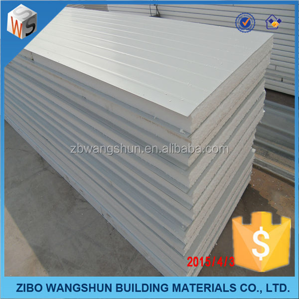 cheap building materials sandwich panel for mobile home ceiling