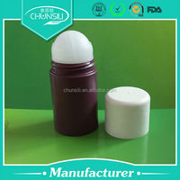 wholesale plastic pp roll on 90ml blue for men perfume bottle