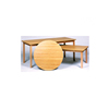 Promotional preschool round montessori wooden classroom table