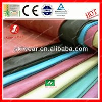 breathable anti pilling imitate suede textiles