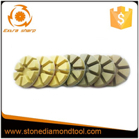 Diamond Resin Bond Polishing Pads for Terrazzo Concrete Stone Grinding