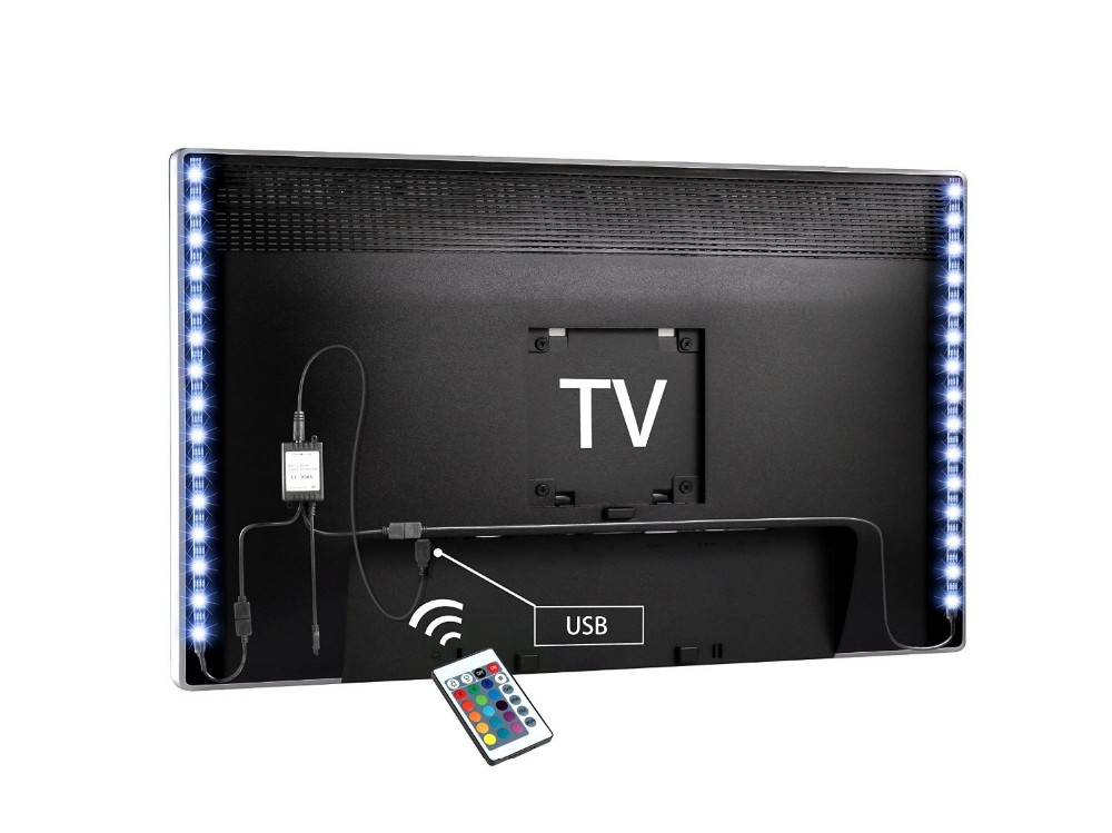 USB TV Backlight Strip Under Cabinet Mood Backlighting