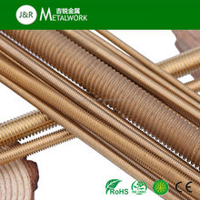M3 M10 M42 M45 Alloy Copper Threaded Rod DIN975