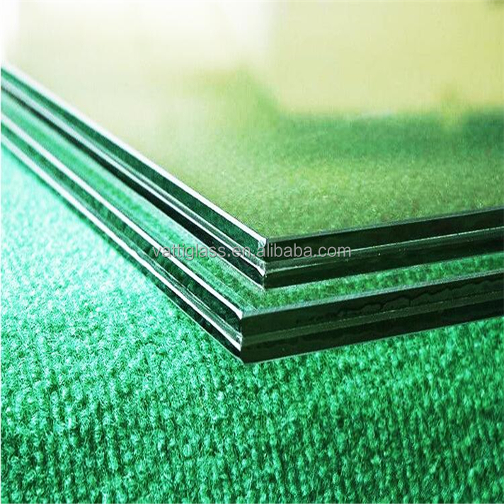 16.38mm safe toughened laminated glass with PVB film for shower room