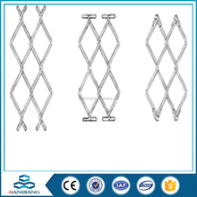galvanzied wire Chain link fence/hot galvanized chain link fence netting