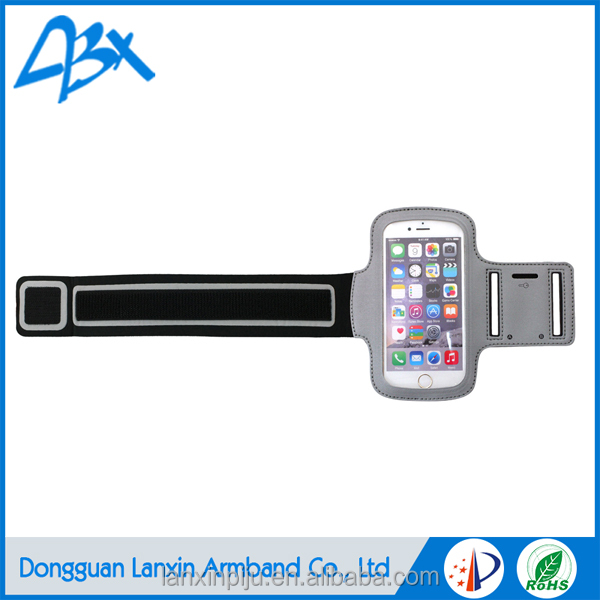 Durable high quality sport running armband for samsung galaxy s4 case
