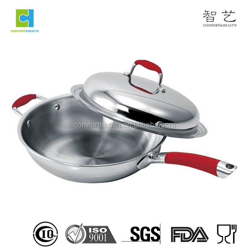 18 10 surgical tri-ply stainless steel cookware