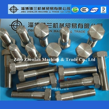 China Supplied Hastelloy C276 Hex Head Bolts