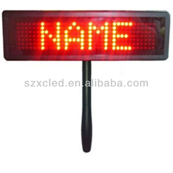 LED paging board (P6-7*35)
